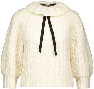 RED Valentino Cable jumper