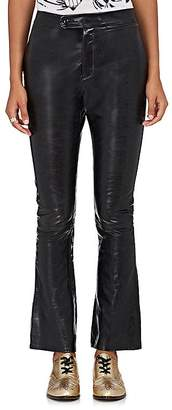R 13 Women's Leather High-Waist Skinny Pants