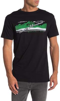 Body Rags Short Sleeve Rocky Mountain National Park Tee