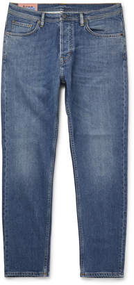Acne Studios River Slim-Fit Tapered Stretch-Denim Jeans - Men - Blue