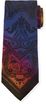 Etro Tom Piazzata 8cm Silk Tie