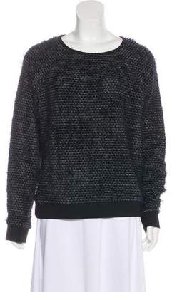 Tibi Knit Long Sleeve Sweater