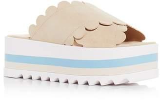 Isa Tapia Bondi Platform Slide Sandals