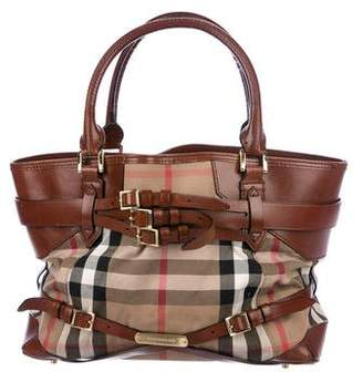 Burberry Medium Bridle Landscape Lynher Tote