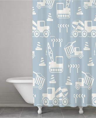 Kassatex Kassa Kids Cotton Construction Shower Curtain Bedding