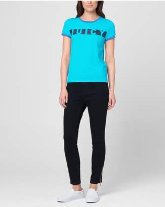 Juicy Couture JXJC Juicy Contrast Stripe Tee