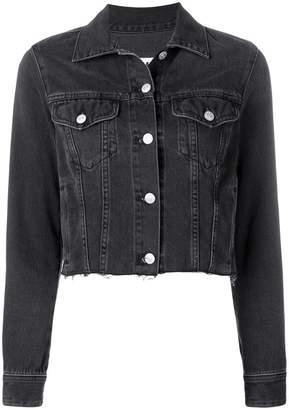 MM6 MAISON MARGIELA cropped denim jacket