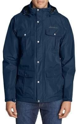 Eddie Bauer Rainfoil Utility Jacket