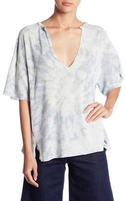 Honeybelle Honey Belle Tie Dye Split Collar Tee