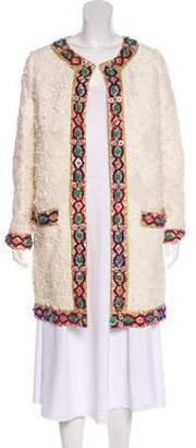 Manoush Embellished Open Front Coat w/ Tags