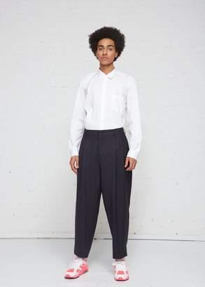 Comme des Garcons Wool Stripe Pant