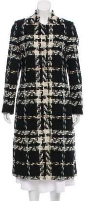 Dries Van Noten Patterned Wool Coat