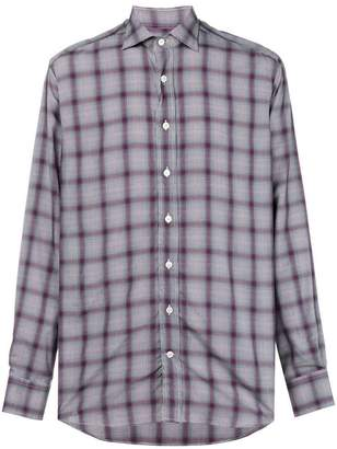 Etro checked straight shirt