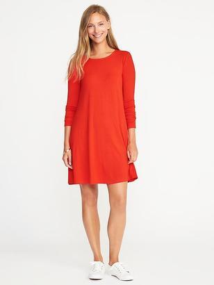 Jersey-Knit Swing Dress for Women $29.99 thestylecure.com