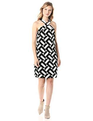 Trina Turk Trina Women's Fabiana Cross Front Dress