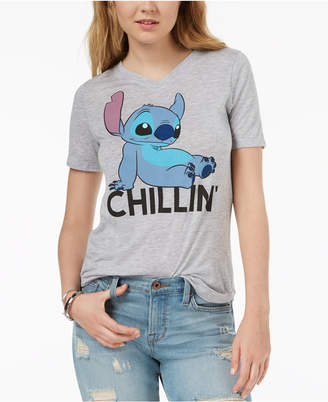 Hybrid Juniors' Chillin' Graphic-Print T-Shirt