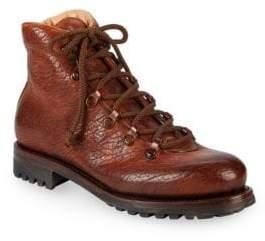 Paul Stuart Antique Leather Hiker Boots