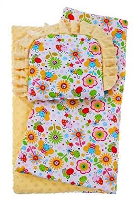 BlueberrySop Quilt and Pillow Set, 2-Piece