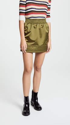 No.21 No. 21 Bomber Miniskirt