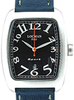 "Locman Aluminum "" Sport Tempo"" Strapwatch Mens Watch"