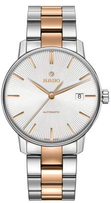 Rado Coupole Classic Automatic Bracelet Watch, 37.7mm
