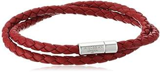 Tateossian Men's Scoubidou Pop Medium Double Leather Wrap Bracelet