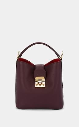 Mark Cross Women's Murphy Small Leather Bucket Bag - Purple