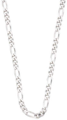 Men's Made In Italy Sterling Silver Figaro Chain Necklace