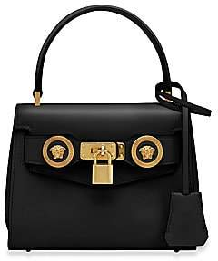 Versace Women's Small Icon Leather Top Handle Bag