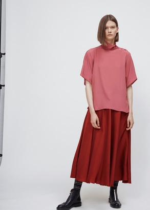Marni lipstick long sleeve blouse