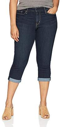 Levi's Gold Label Women's Plus-Size Modern Capris