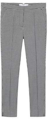 MANGO Check suit trousers