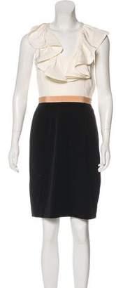 Jay Godfrey Sleeveless Mini Dress