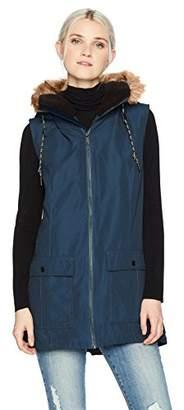 Volcom Women's Longhorn Butter Twill Insulated Vest