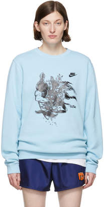 Nike Erl ERL Blue Edition Witch 4 Sweatshirt