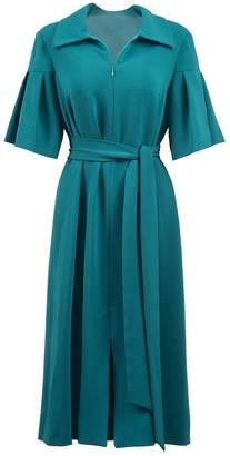 Anna Etter - Emerald Midi Dress Gleann