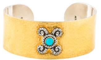 Gurhan Turquoise & Diamond Cuff