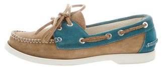 Chanel Bicolor Boat Shoes
