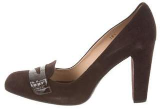 Tod's Pointed-Toe Loafer Pumps