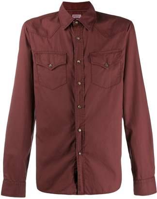 Brunello Cucinelli long-sleeved western shirt