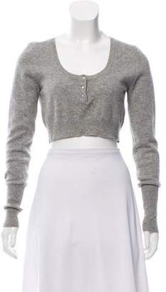 Robert Rodriguez Cashmere Cropped Sweater