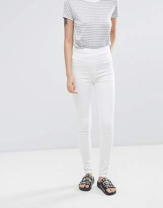 Pieces Jute High Rise Skinny Jeans