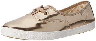Keds Women's Breeze Metallic Patent Fashion Sneaker $75 thestylecure.com