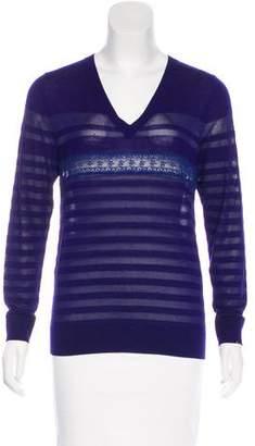 Nina Ricci Wool & Silk-Blend Top