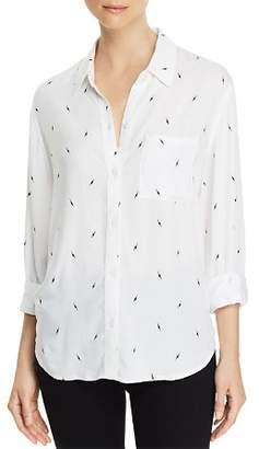 Rails Rocsi Lightning Print Shirt