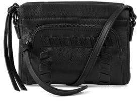 Kooba Top Zip Leather Mini Shoulder Bag