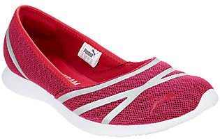 Puma Mesh Slip-On Ballet Sneakers - Vega BalletMesh