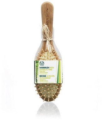 The Body Shop Oval Bamboo Pin Hairbrush