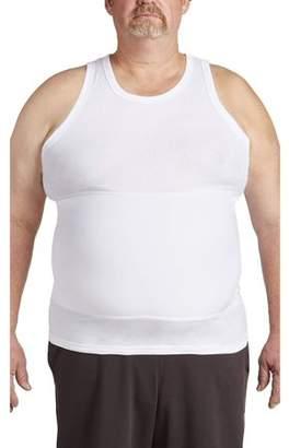 Canyon Ridge Big Men's Shapewear Tank T-Shirt, Up to 6XL