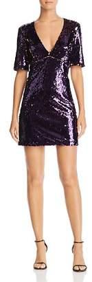 Bardot Two-Tone Sequin Dress
